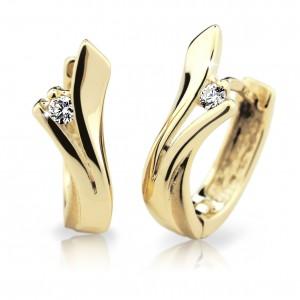 zlate nausnice danfil