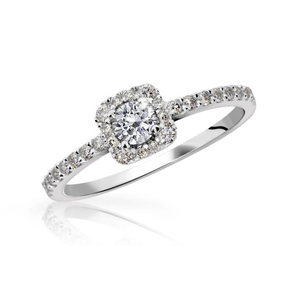 zásnubní prsten s brilianty