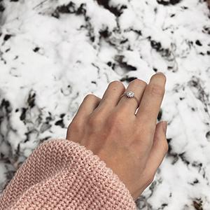 briliantový prsten Danfil Jewellery