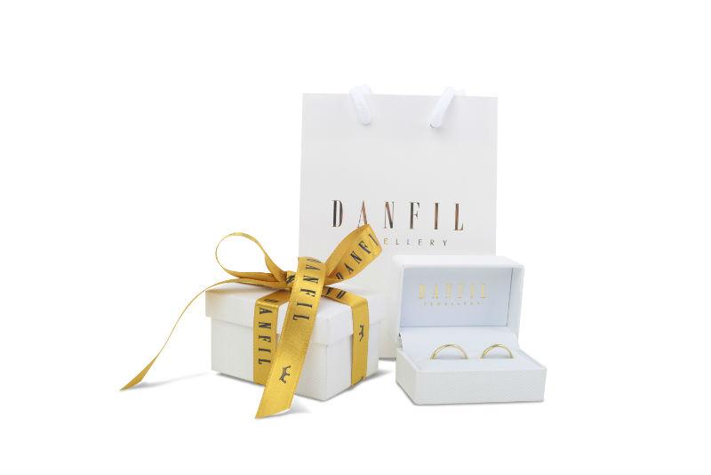 Krabička Danfil snubní prsteny