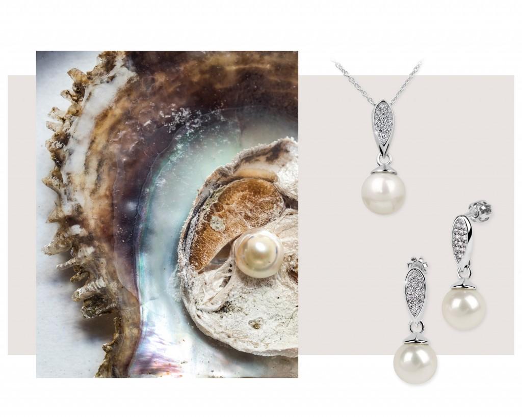 perla a perlové šperky