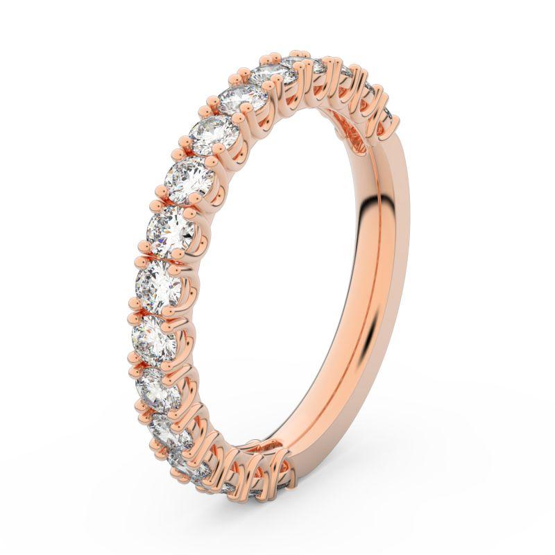 snubní prsten růžové zlato danfil