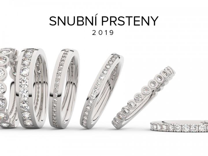 snubní prsteny eternity 2019