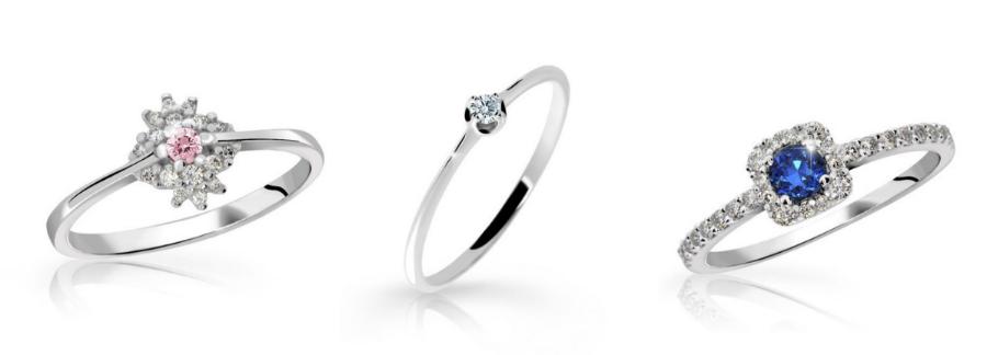 zásnubní prsteny danfil diamonds